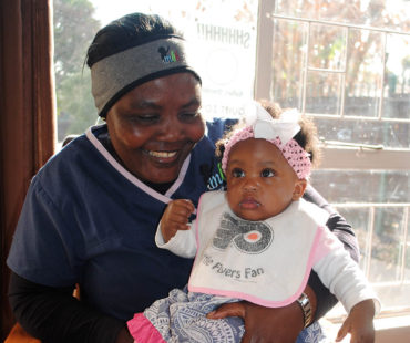 Caregiver & Baby at MBH