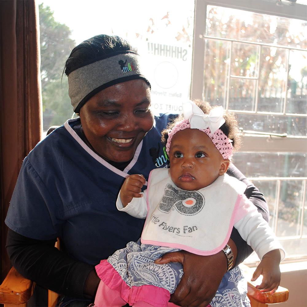 Caregiver & Baby at MBH